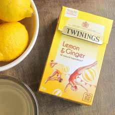 Twinings Lemon & Ginger Herbal Tea