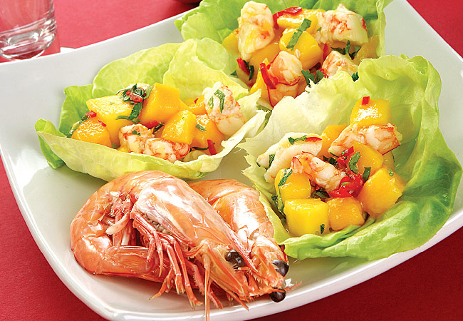 Prawns - 10 protein foods for weight loss - IMAGE - Women's Health & Fitness