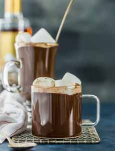 Chocolate Hot Buttered Rum