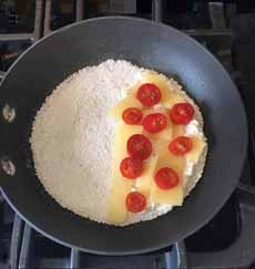 Tapioca Crepe In The Pan