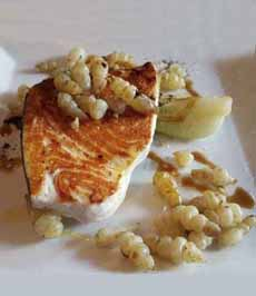 Swordfish & Crosnes