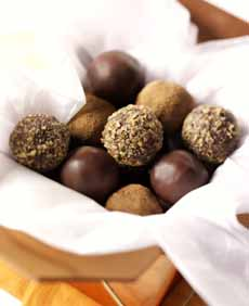 Box Of Chocolate Truffles