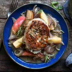 Pork Chop With Apples