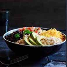 Sprouted Rice Grain Bowl