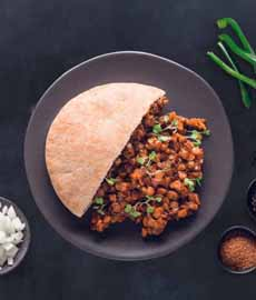 Sprouted Lentils Sandwich