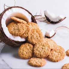 Mrs. Thinsters Toasted Coconut Cookies