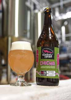 Dogfish Head Chicha Beer