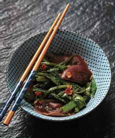Stir-Fried Celtuce
