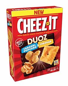 Cheez-It Duoz Caramel Corn