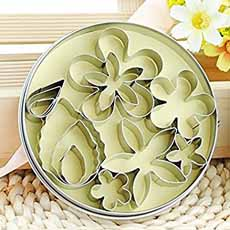 Flower Leaf Cookie Cutters