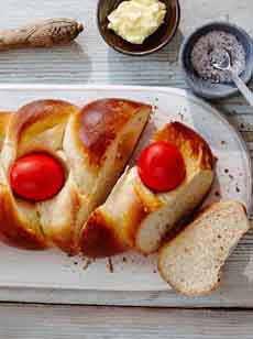 Tsoureki Greek Easter Bread