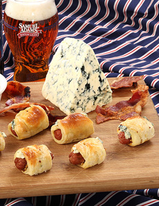 Blue Cheese Pigs In Blankets Recipe