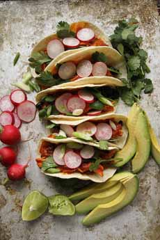 Chicken Avocado Tacos