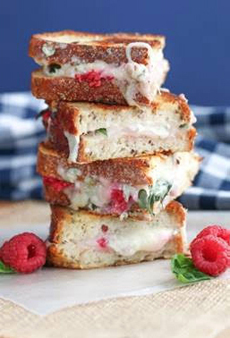 Raspberry Grilled Cheese Sandwich