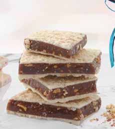 Fowler's Toffee White Chocolate Almond