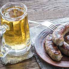 Beer and Sausage Pairing