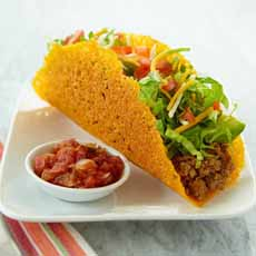 Taco Shell Made From Cheese