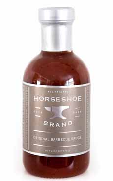Horseshoe Brand Barbecue Sauce