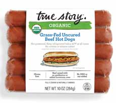 True Story Uncured Hot Dogs