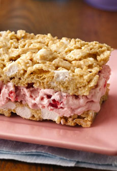 Granola Ice Cream Sandwich