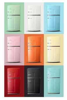 Colored Refrigerators