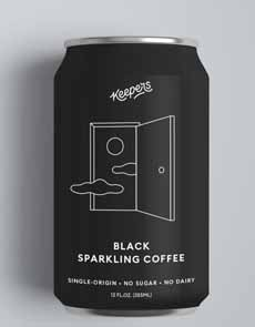 Keepers Black Sparkling Coffee