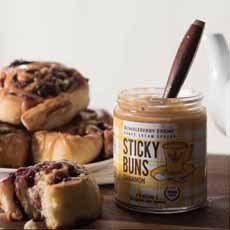 Sticky Buns Cinnamon Honey Bumbleberry Farms