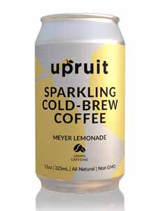 Upruit Sparkling Cold Brew Coffee With Lemonade