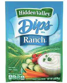 Hidden Valley Ranch Dips