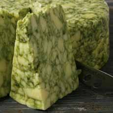 Sage Derby Green Cheese