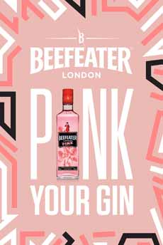 Beefeater Pink Gin Poster