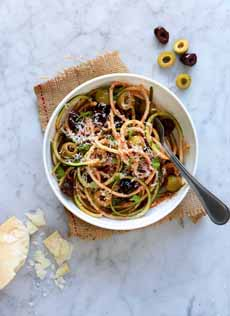 Zoodles With Olives