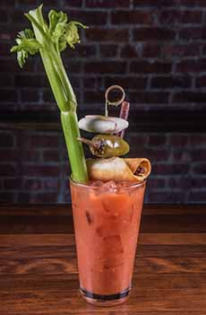 Multi-Garnish Bloody Mary