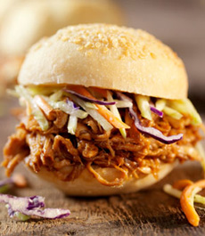 Pulled Pork On Bun