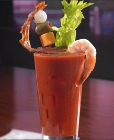 Garnished Bloody Mary