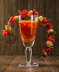 Philly Cheesesteak Bloody Mary