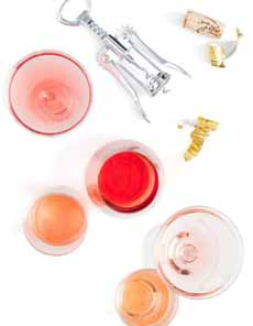 Different Rose Wine Colors