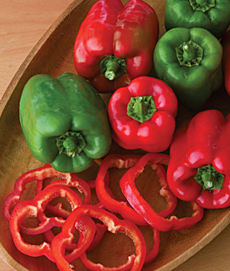 Red & Green Bell Peppers