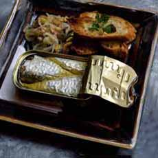 Sardines Presented In Can