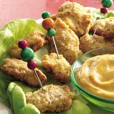 Chicken Nuggets With Mustard