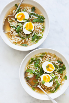 Ramen Bowl With Boiled Egg
